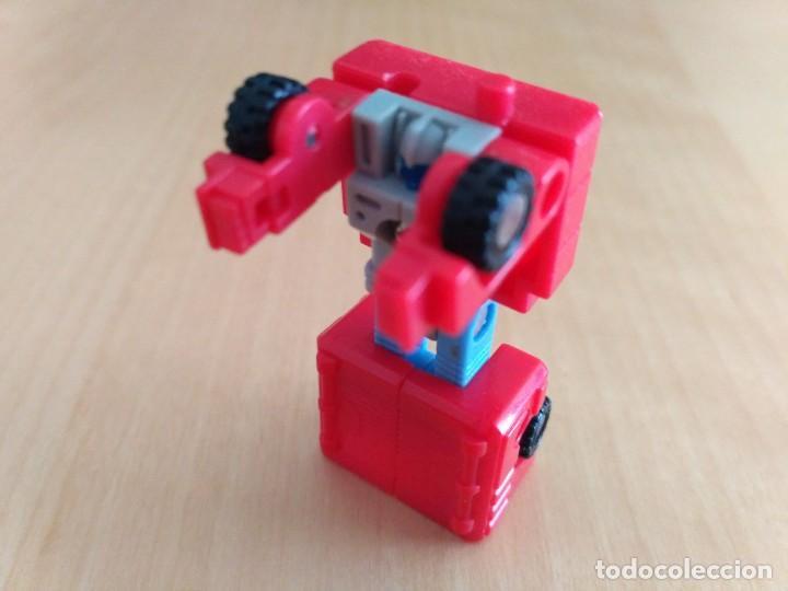Figuras y Muñecos Transformers: Lote 4 figuras dobles Mini Transformer - Hasbro Takara años 80 - 90 - Foto 18 - 115922795