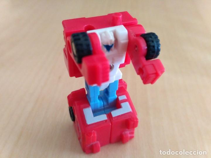 Figuras y Muñecos Transformers: Lote 4 figuras dobles Mini Transformer - Hasbro Takara años 80 - 90 - Foto 19 - 115922795