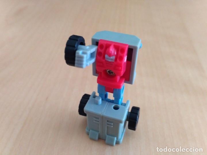 Figuras y Muñecos Transformers: Lote 4 figuras dobles Mini Transformer - Hasbro Takara años 80 - 90 - Foto 23 - 115922795