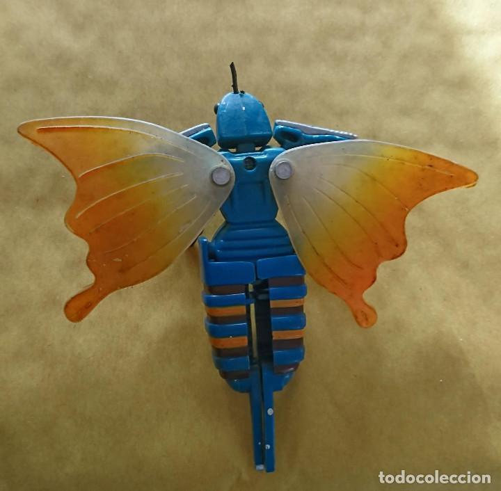 Figuras y Muñecos Transformers: rareza coleccionistas antiguo robot transformers avispa insecto original años 80 - Foto 2 - 117154919