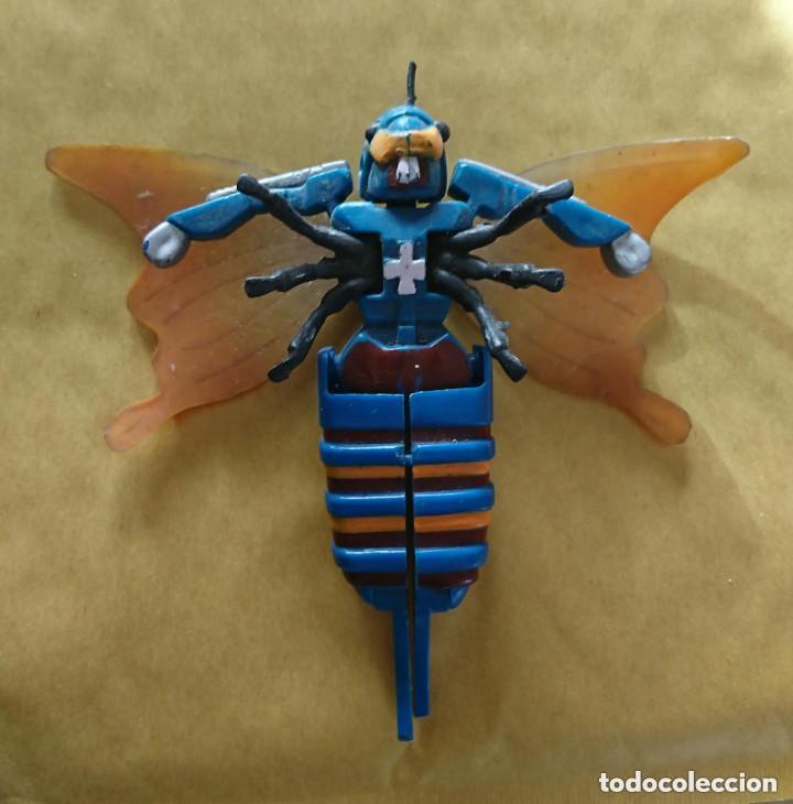 RAREZA COLECCIONISTAS ANTIGUO ROBOT TRANSFORMERS AVISPA INSECTO ORIGINAL AÑOS 80 (Juguetes - Figuras de Acción - Transformers)