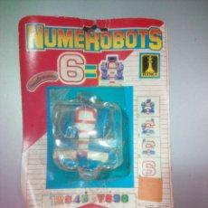 Figuras y Muñecos Transformers: NUMEROBOTS RIMA. Lote 117955846