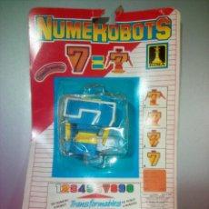 Figuras y Muñecos Transformers: NUMEROBOTS RIMA. Lote 117955894