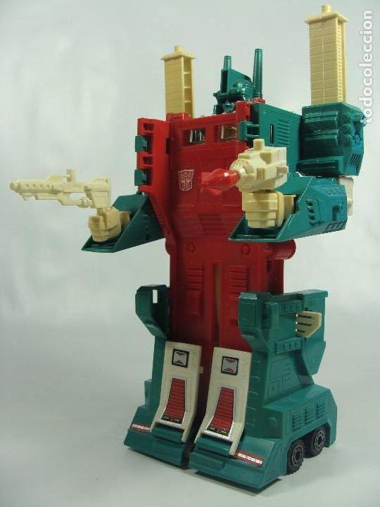 Figuras y Muñecos Transformers: Ultra Magnus - Hermano de Optimus Prime - Transformers Generación 1 - Hasbro Takara 1986 - Foto 2 - 120997443
