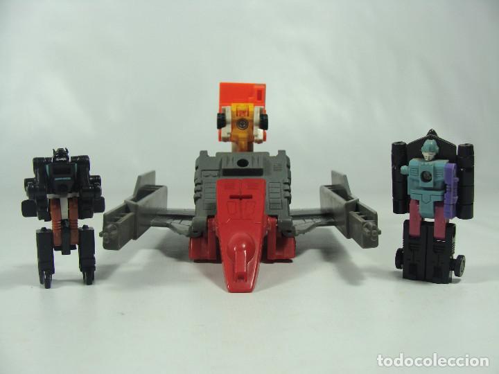 OVERLOAD MICROMASTERS SET - TRANSFORMERS GENERACIÓN 1 - HASBRO TAKARA 1989 (Juguetes - Figuras de Acción - Transformers)