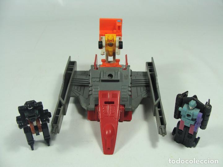Figuras y Muñecos Transformers: Overload Micromasters set - Transformers Generación 1 - Hasbro Takara 1989 - Foto 2 - 121003207