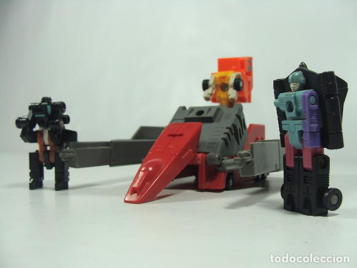 Figuras y Muñecos Transformers: Overload Micromasters set - Transformers Generación 1 - Hasbro Takara 1989 - Foto 3 - 121003207