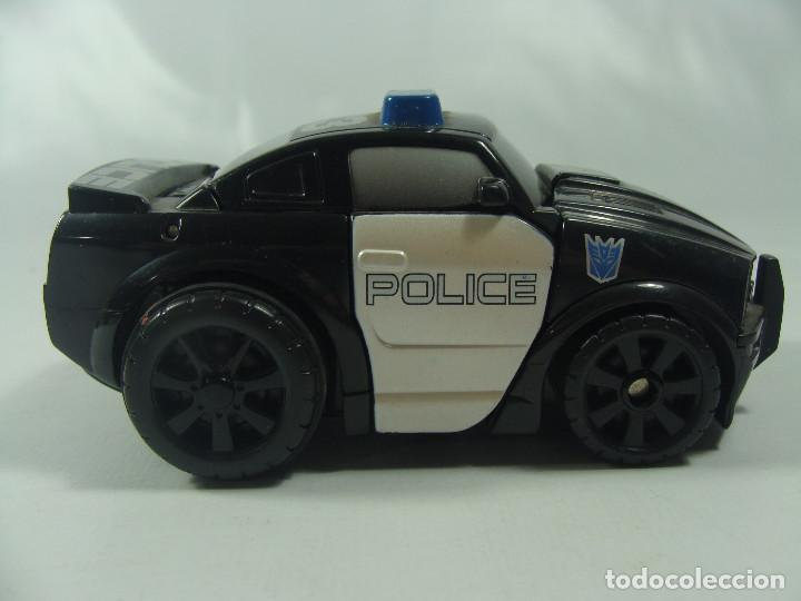 Figuras y Muñecos Transformers: Barricade Cyber Slammers - Transformers The Movie - Hasbro/Takara 2006 - Foto 4 - 121066063