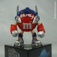 Figuras y Muñecos Transformers: OPTIMUS PRIME - HUCHA PROMOCIONAL DE M&M - TRANSFORMERS REVENGE OF THE FALLEN - 2009. Lote 121105035