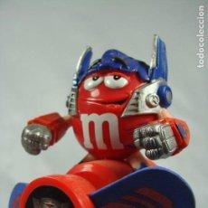 Figuras y Muñecos Transformers: OPTIMUS PRIME - VENTILADOR PROMOCIONAL DE M&M - TRANSFORMERS REVENGE OF THE FALLEN - 2009. Lote 121106587