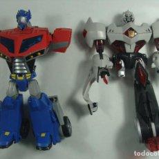 Figuras y Muñecos Transformers: OPTIMUS PRIME Y MEGATRON - DESPIECE FIGURAS INCOMPLETAS - TRANSFORMERS ANIMATED - 2007. Lote 121107719