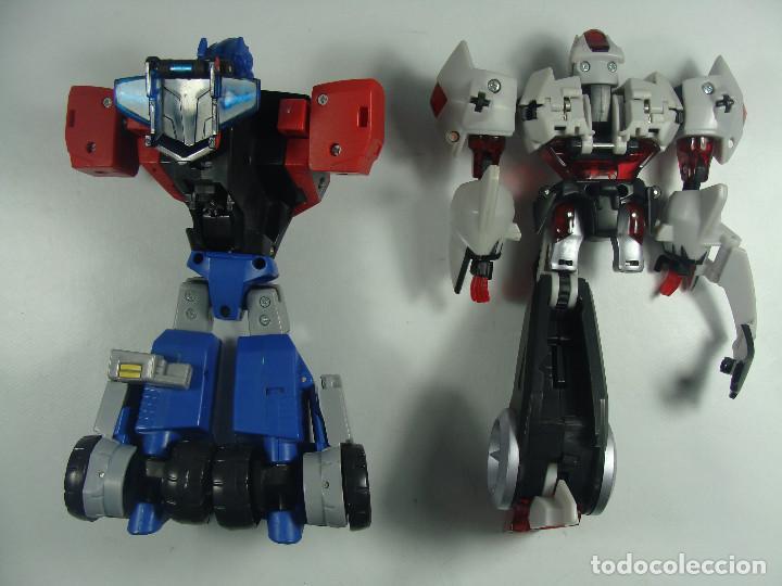 Figuras y Muñecos Transformers: Optimus Prime y Megatron - Despiece Figuras incompletas - Transformers Animated - 2007 - Foto 2 - 121107719
