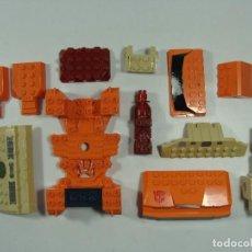 Figuras y Muñecos Transformers: TRANSFORMERS BUILT TO RULE - LOTE DE PIEZAS ESTILO LEGO O TENTE. Lote 121120843