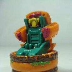 Figuras y Muñecos Transformers: MACRO MAC - HAMBURGUESA TRANSFORMERS DE MCDONALDS - CHANGEABLES MCROBOTS - HECHA EN 1988. Lote 122529607