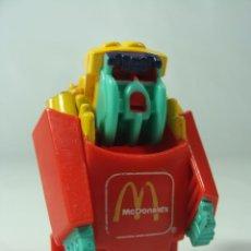 Figuras y Muñecos Transformers: FRY FORCE - PATATAS TRANSFORMERS DE MCDONALDS - CHANGEABLES MCROBOTS - HECHA EN 1988. Lote 122529759