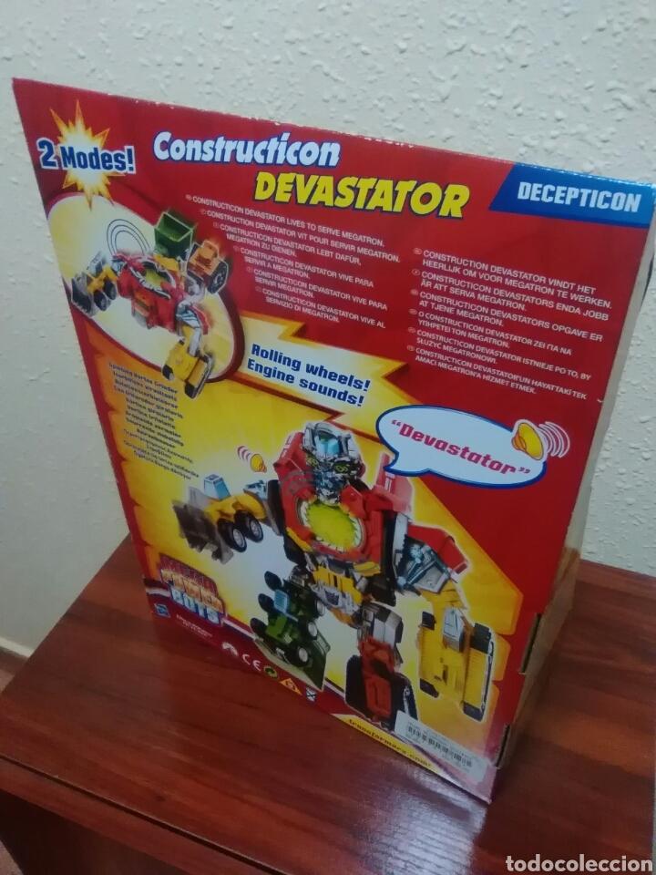 Figuras y Muñecos Transformers: TRANSFORMERS - DEVASTATOR - CONSTRUCTICON - MEGA POWER BOTS - REVENGE FALLEN - NUEVO - Foto 5 - 77312745