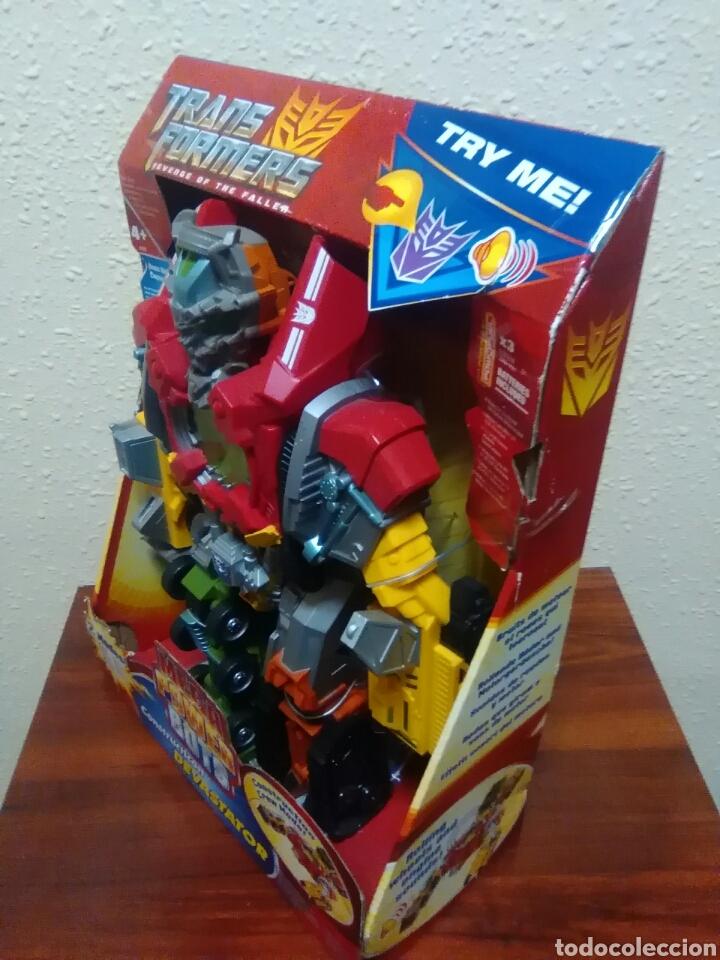 Figuras y Muñecos Transformers: TRANSFORMERS - DEVASTATOR - CONSTRUCTICON - MEGA POWER BOTS - REVENGE FALLEN - NUEVO - Foto 6 - 77312745
