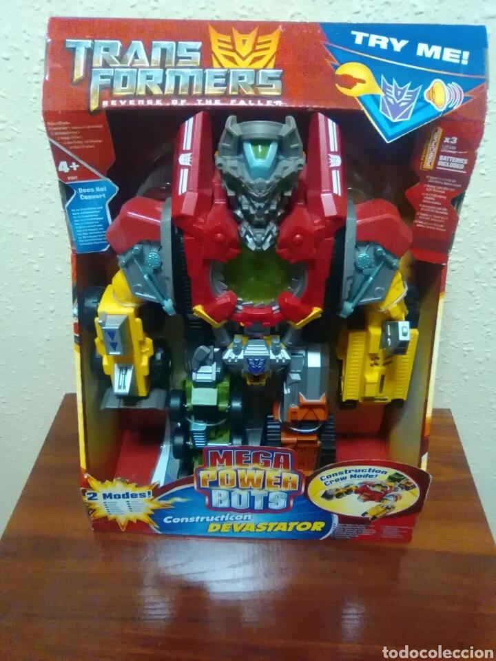 Figuras y Muñecos Transformers: TRANSFORMERS - DEVASTATOR - CONSTRUCTICON - MEGA POWER BOTS - REVENGE FALLEN - NUEVO - Foto 7 - 77312745
