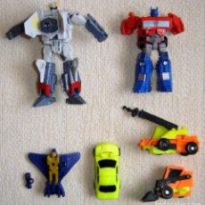 Figuras y Muñecos Transformers: LOTE SEIS FIGURAS TRANSFORMERS OPTIMUS PRIME MICROMASTER. Lote 125718851