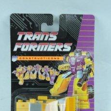 Figuras y Muñecos Transformers: TRANSFORMERS CONSTRUCTICONS DECEPTICON, EXCAVADORA, NUEVO. SIN ABRIR.. Lote 127264848