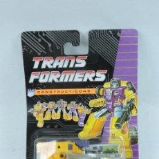 Figuras y Muñecos Transformers: TRANSFORMERS CONSTRUCTICONS DECEPTICON, GRUA, NUEVO. SIN ABRIR.. Lote 127264855