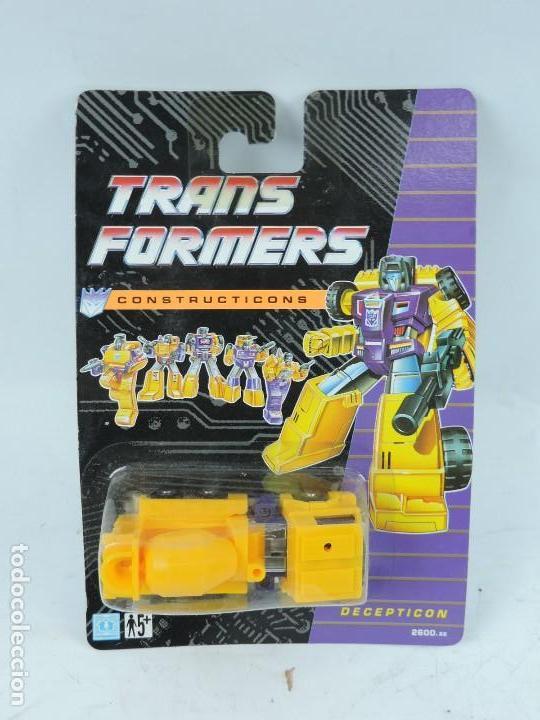 TRANSFORMERS CONSTRUCTICONS DECEPTICON, HORMIGONERA, NUEVO. SIN ABRIR. (Juguetes - Figuras de Acción - Transformers)