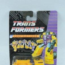 Figuras y Muñecos Transformers: TRANSFORMERS CONSTRUCTICONS DECEPTICON, HORMIGONERA, NUEVO. SIN ABRIR.. Lote 127264856