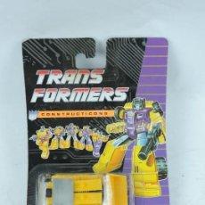 Figuras y Muñecos Transformers: TRANSFORMERS CONSTRUCTICONS DECEPTICON, EXCAVADORA, NUEVO. SIN ABRIR.. Lote 127264864