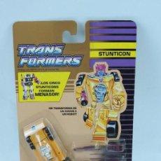 Figuras y Muñecos Transformers: BLISTER TRANSFORMERS, 1991, STUNTICON DECEPTICON DRAG STRIP, SIN ABRIR, MUY RARO.. Lote 127723252