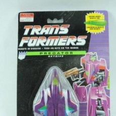 Figuras y Muñecos Transformers: BLISTER TRANSFORMERS PREDATOR SKYDIVE, DECEPTICON, HASBRO 1991, SIN ABRIR, MUY MUY RARO.. Lote 126446411