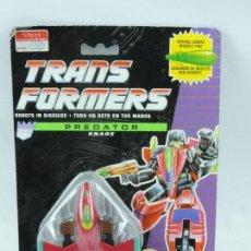 Figuras y Muñecos Transformers: BLISTER TRANSFORMERS DECEPTICOM SNARE PREDATOR, HASBRO 1991, SIN ABRIR.. Lote 126449687