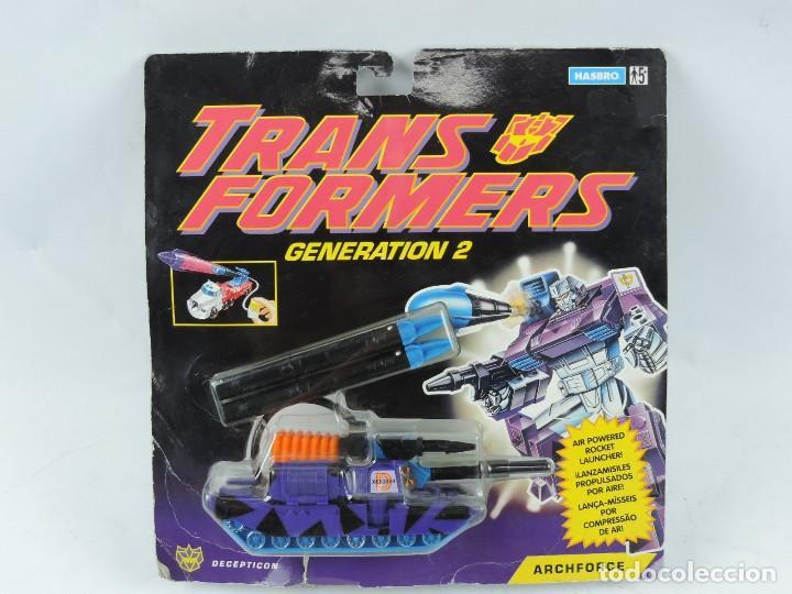 BLISTER TRANSFORMERS ARCHFORCE, GENERATION 2, SIN ABRIR. MUY RARO. (Juguetes - Figuras de Acción - Transformers)