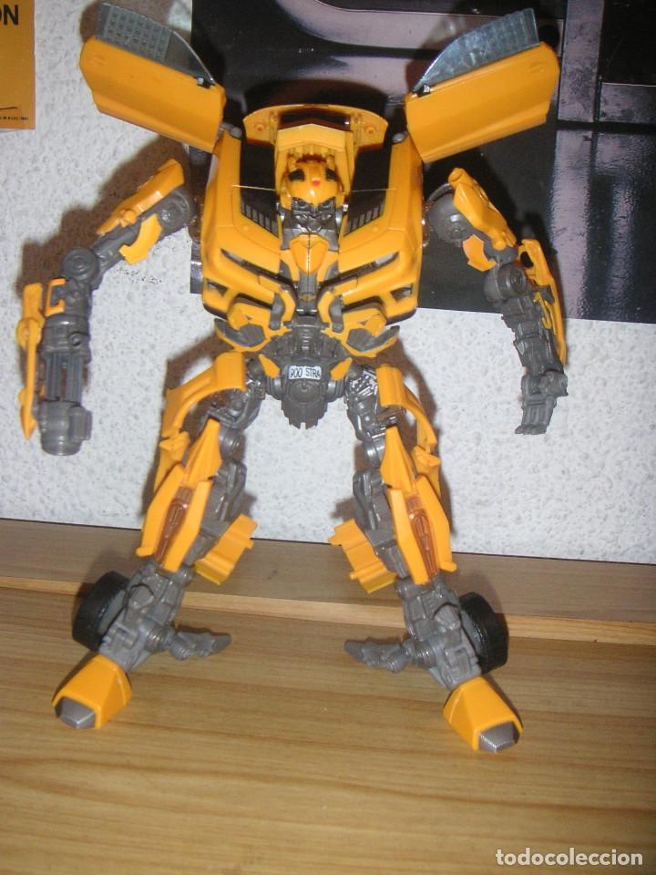 Figuras y Muñecos Transformers: Transformer Bumblebee Leader Class Mechtech (Hasbro, 2011) Transformers Dark of the moon - Foto 2 - 110436227