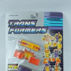 Figuras y Muñecos Transformers: ANTIGUO TRANSFORMER DECEPTICON MICROCOMBINER, CONSTRUCTOR SQUAD, FABRICADO POR HASBRO. EN PERFECTO E. Lote 126522007