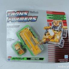Figuras y Muñecos Transformers: BLISTER TRANSFORMERS MICROMASTER TRANSPORT, AUTOBOT ERECTOR DE HASBRO, NUEVO.. Lote 153569821