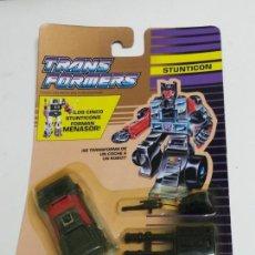 Figuras y Muñecos Transformers: BLISTER TRANSFORMERS STUNTICON DECEPTICON, WILD RIDER, HASBRO, SIN ABRIR, MUY RARO.. Lote 127723536