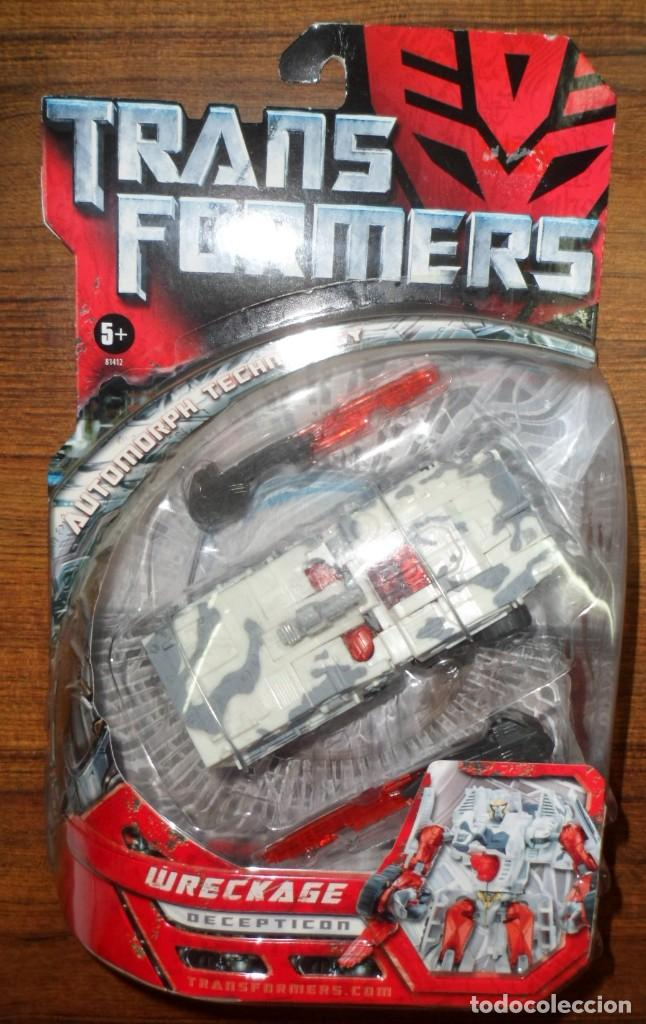 BLISTER SIN ABRIR TRANSFORMERS WRECKAGE DECEPTICON HASBRO (Juguetes - Figuras de Acción - Transformers)