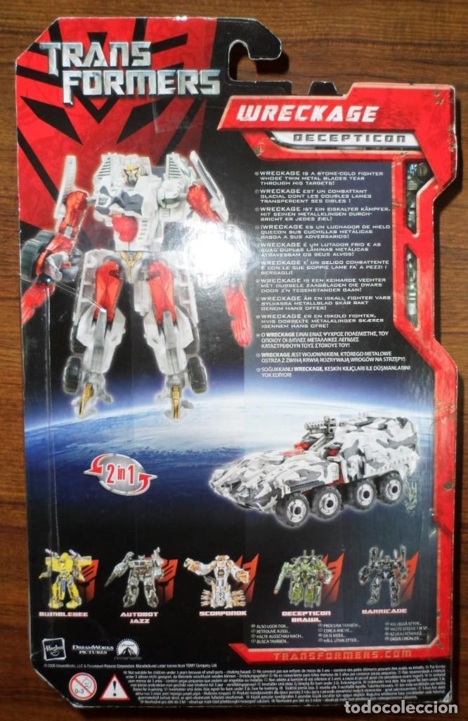 Figuras y Muñecos Transformers: BLISTER SIN ABRIR TRANSFORMERS WRECKAGE DECEPTICON HASBRO - Foto 2 - 128089439