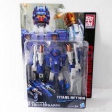 Figuras y Muñecos Transformers - TRANSFORMERS TITANS RETURN: TRIGGERHAPPY & BLOWPIPE - HASBRO 2016 - NUEVO A ESTRENAR - 129465271