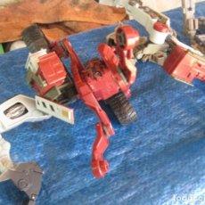 Figuras y Muñecos Transformers: LOTE TRANSFORMER ? COCHE SPEED RACER ENTREPRISES Y MANDOS. Lote 130596554