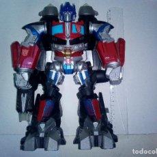 Figuras y Muñecos Transformers: -OPTIMUS PRIME-TRANSFORMER-ELECTRONICO-LUCES Y SONIDOS-32CM. Lote 131580698