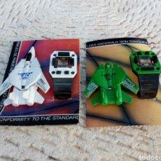 Figuras y Muñecos Transformers: RELOJES TRANSFORMERS DE JUGUETE AÑOS 70. Lote 131586342