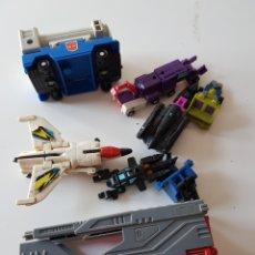 Figuras y Muñecos Transformers: TRANSFORMERS GOBOTS ANTIGUOS AÑOS 90S. Lote 132585066