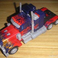 Figuras y Muñecos Transformers: TRANSFORMER OPTIMUS PRIME ANIMATED LEADER CLASS (HASBRO, 2007) TRANSFORMERS THE MOVIE. Lote 56698825