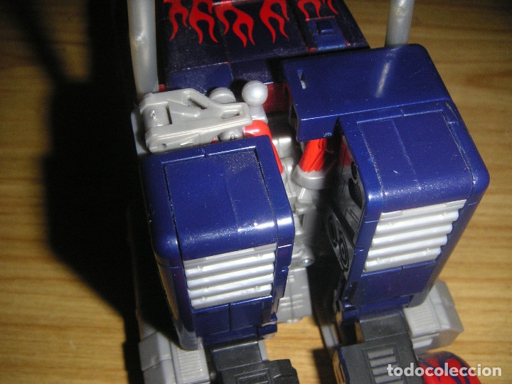 Figuras y Muñecos Transformers: Transformer Optimus Prime Animated Leader Class (Hasbro, 2007) Transformers the Movie - Foto 2 - 56698825