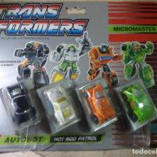 Figuras y Muñecos Transformers: TRANSFORMERS AUTOBOT HOT ROD PATROL NUEVO.. Lote 134039710