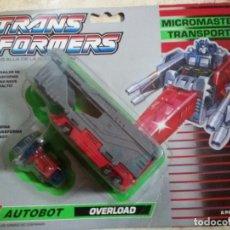 Figuras y Muñecos Transformers: TRANSFORMERS MICROMASTER TRANSPORTS AUTOBOT OVERLOAD. ORIGINAL. AÑOS 90.. Lote 134040478
