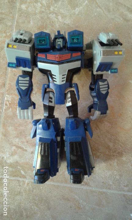 TRANSFORMERS, ANIMATED ULTRA MAGNUS CON LUZ Y SONIDO (Juguetes - Figuras de Acción - Transformers)