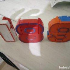 Figuras y Muñecos Transformers: NUMEROBLOCKS - NUMEROS ROBOT TRANSFORMERS (1, 8 Y 9). Lote 135836326