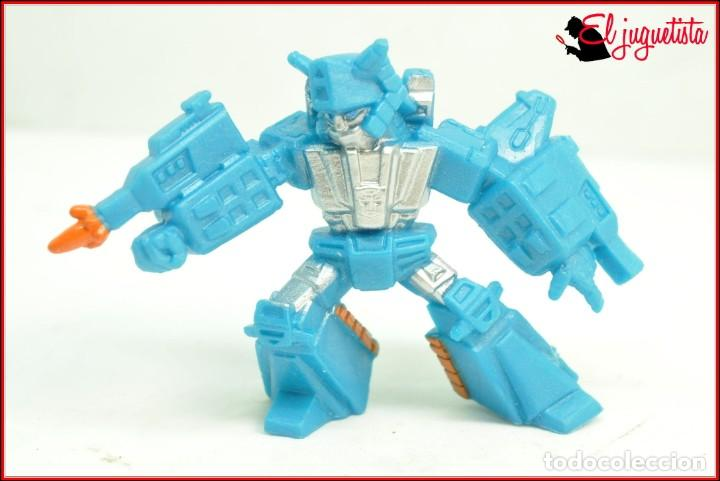 FRA2 25 - HASBRO TRANSFORMERS TINY TITANS OLEADA 2 2015 - AUTOBOT TOPSPIN (Juguetes - Figuras de Acción - Transformers)